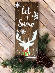 Affordable Winter Christmas Decorations Ideas28