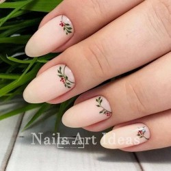 Astonishing Christmas Nail Design Ideas For Pretty Women05