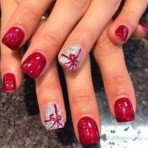 Astonishing Christmas Nail Design Ideas For Pretty Women39