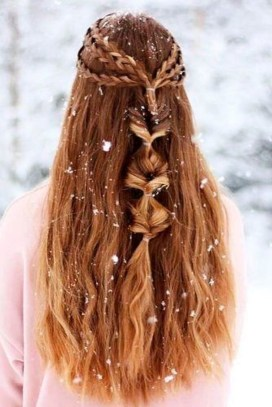 Awesome Hairstyles Christmas Party Ideas36