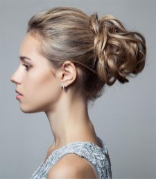 Casual Christmas Updos Ideas16