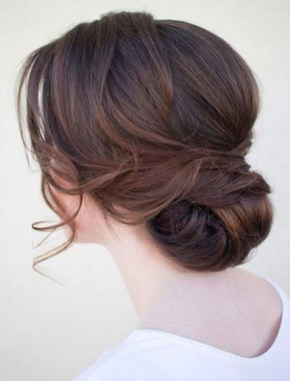 Casual Christmas Updos Ideas36
