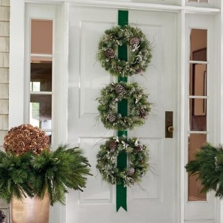 Casual Winter Themed Christmas Decorations Ideas06