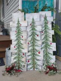 Casual Winter Themed Christmas Decorations Ideas13