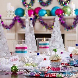 Casual Winter Themed Christmas Decorations Ideas22