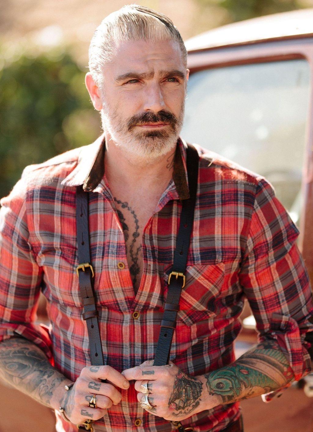 Cozy Plaid Shirt Outfit Christmas Ideas For Handsome Mens38