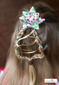 Cute Christmas Braided Hairstyles Ideas02