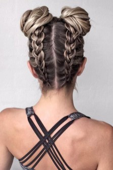 Cute Christmas Braided Hairstyles Ideas38