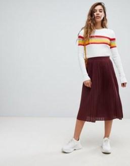 Elegant Midi Skirt Winter Ideas12