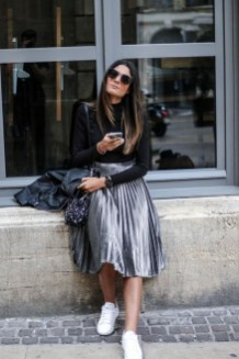 Elegant Midi Skirt Winter Ideas13