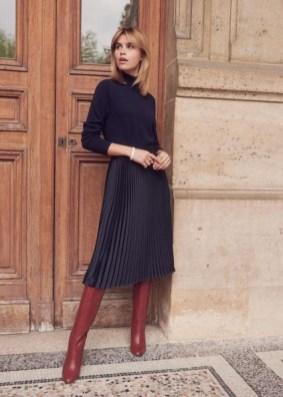 Elegant Midi Skirt Winter Ideas17