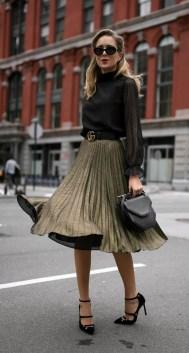 Elegant Midi Skirt Winter Ideas30