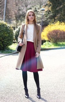 Elegant Midi Skirt Winter Ideas32