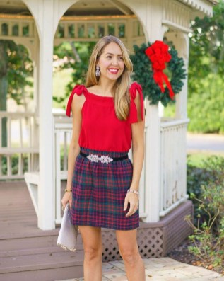 Incredible Holiday Style Christmas Outfit Ideas07