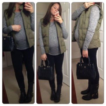Lovely Maternity Winter Outfits Ideas35