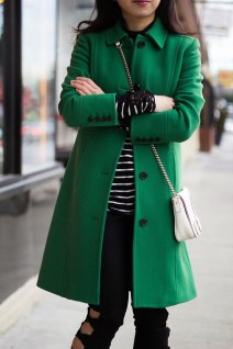 Stylish Emerald Coats Ideas For Winter14
