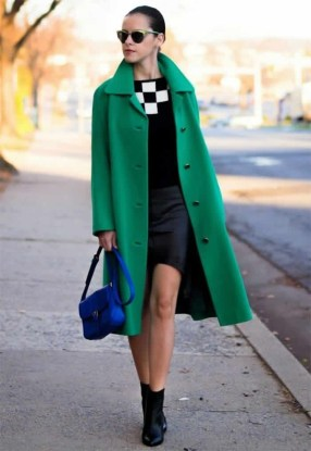 Stylish Emerald Coats Ideas For Winter15