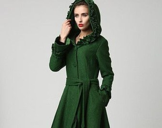 Stylish Emerald Coats Ideas For Winter20