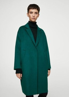 Stylish Emerald Coats Ideas For Winter32