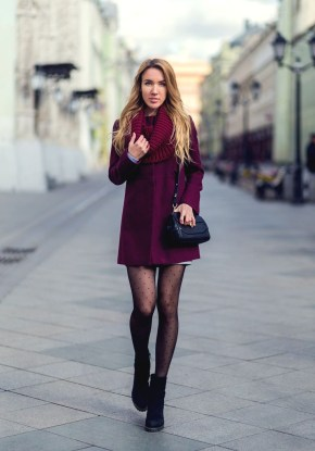 Affordable Winter Skirts Ideas With Tights07