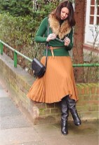 Amazing Winter Dresses Ideas With Boots04