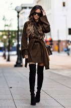 Amazing Winter Dresses Ideas With Boots08