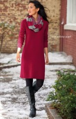 Amazing Winter Dresses Ideas With Boots27