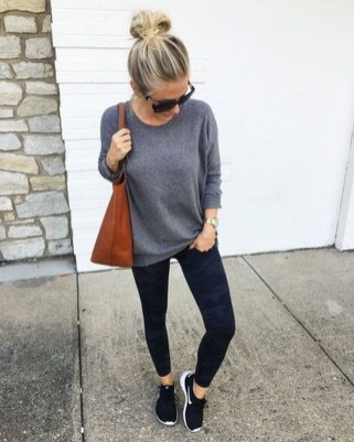 Best Winter Outfits Ideas With Leggings24