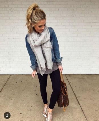 Best Winter Outfits Ideas With Leggings34