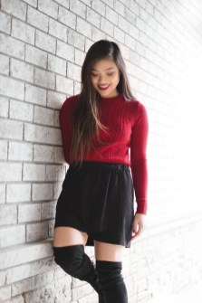Classy Outfit Ideas For Valentine'S Day01