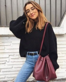 Classy Winter Outfits Ideas For School14