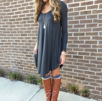 Classy Winter Outfits Ideas For School27