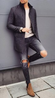 Elegant Men'S Outfit Ideas For Valentine'S Day03