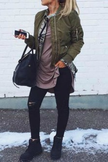 Extraordinary Winter Clothes Ideas For Teenage Girl30