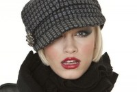 Fascinating Winter Hats Ideas For Women With Short Hair32
