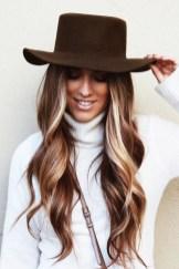 Fashionable Winter Hair Color Ideas24