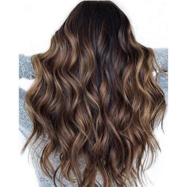 Fashionable Winter Hair Color Ideas40