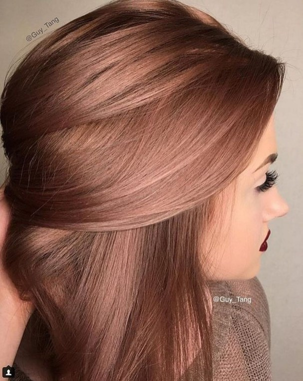 Fashionable Winter Hair Color Ideas41