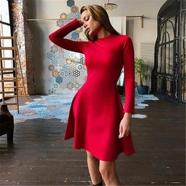 Flawless Winter Dress Outfits Ideas33