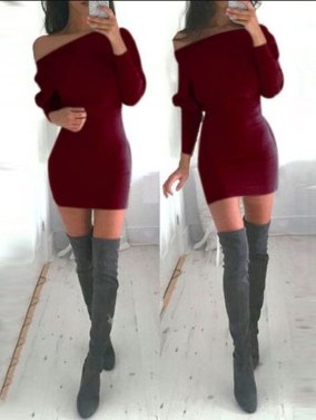 Flawless Winter Dress Outfits Ideas36