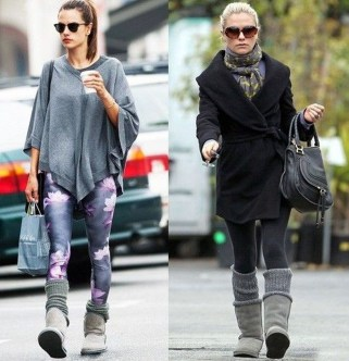Incredible Winter Outfits Ideas With Leg Warmers25