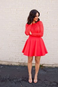 Inpiring Outfits Ideas For Valentines Day05