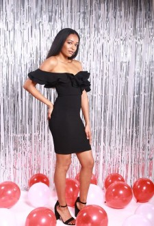Perfect Black Mini Little Dress Ideas For Valentines Day02