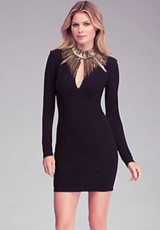 Perfect Black Mini Little Dress Ideas For Valentines Day04