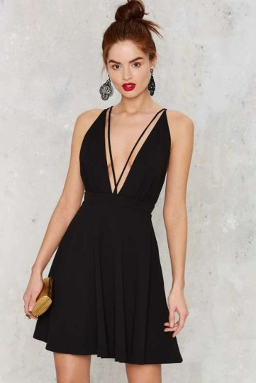 Perfect Black Mini Little Dress Ideas For Valentines Day47