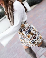 Perfect Winter White Dresses Ideas With Sleeves11