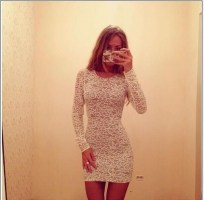 Perfect Winter White Dresses Ideas With Sleeves41