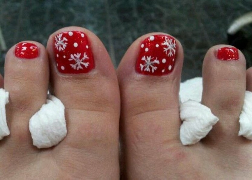Stunning Toe Nail Designs Ideas For Winter05
