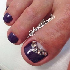 Stunning Toe Nail Designs Ideas For Winter10
