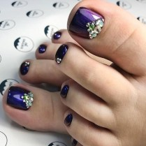 Stunning Toe Nail Designs Ideas For Winter16